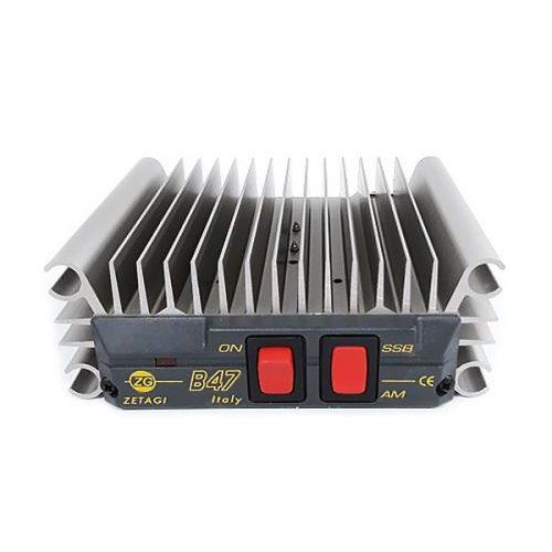 Zetagi B47 MOSFET Amplifier – 50 W AM / FM, 100 W SSB Max