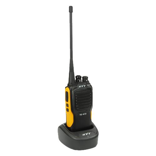 HYT TC610 (VHF) Handheld PMR Transceiver (136 - 174 MHz)