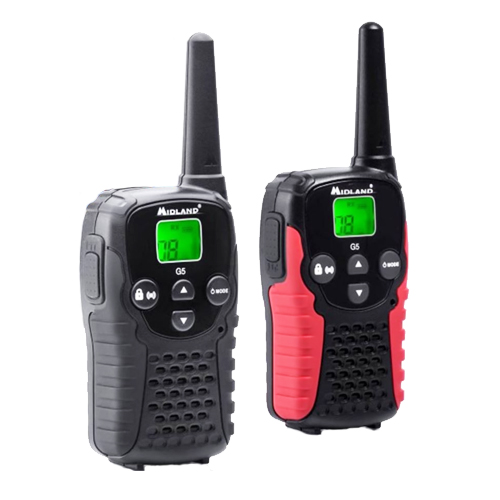 Midland G5C PMR446 Twin Pack Transceivers