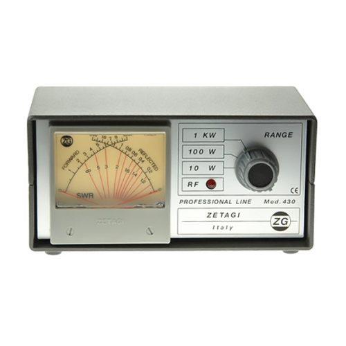 Zetagi 430 SWR / Power Meter 120 – 500 MHz