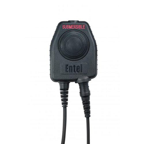 Entel CHPHD/DT9 Double Ear-cup Ear Defender Headset with Hardhat Fixings, c/w PTT-E/DT9