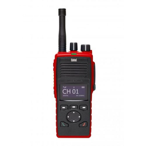 Entel DT985FF ATEX UHF Fire Fighter Portable Radio