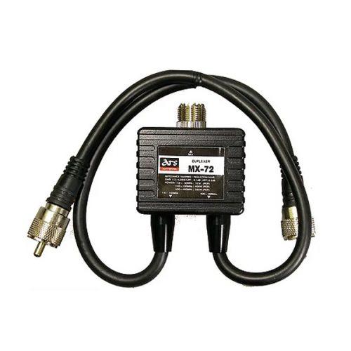 MX-72 Antenna Duplexer 1.6-150 MHZ / 400-460 MHZ